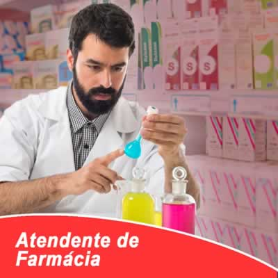 Atendente de Farmácia